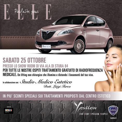 Nuova lancia ypsilon Elle Spazio Group Torino